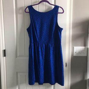 Short eyelet dress